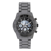 Croton Stainless Steel Ceramic Bracelet Watch