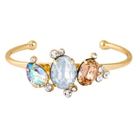GLAMOUR Multi-Stone Bangle