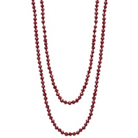 GLAMOUR Long Beaded Necklace