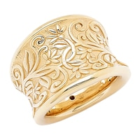 Stefano Oro 14K Yellow Gold Artformed Etrusca Ring