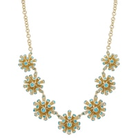 Roberto by RFM Coral Design Statement Necklace