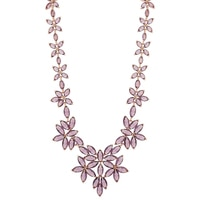 Roberto by RFM Floral Statement Necklace