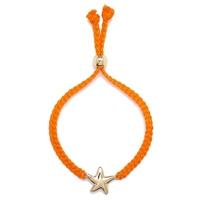 Bracelet en macramé, à fermoir coulissant et agrémenté d'une étoile de mer de Jewellery of The Grand Bazaar