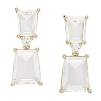 Pendants d'oreille transparents de Roberto by RFM