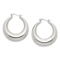 Rfm Hoop Earrings Silver Tone