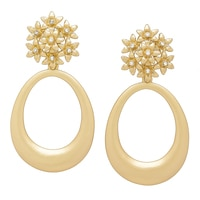 Roberto by RFM Un Giardino Cluster Drop Earrings
