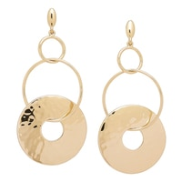 R.J. Graziano Overlapping Circle Link Earrings