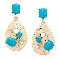 R.J. Graziano Teardrop Earrings