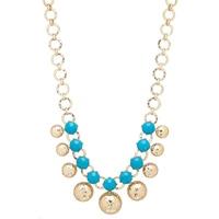 R.J. Graziano Turquoise Stone Collar