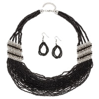 Glamour Let's Party Necklace & Earring Set