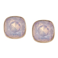 GLAMOUR Button Chic Stud Earrings