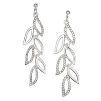 GLAMOUR Feather Drop Earrings