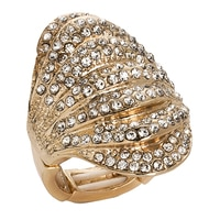 GLAMOUR All That Glitters Stretch Ring