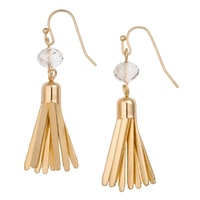 GLAMOUR Tassel Charm Earrings