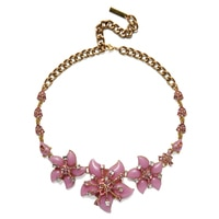 GLAMOUR Winning Florals Statement Necklace