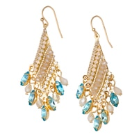 GLAMOUR Farrah Chandelier Earrings