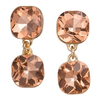 GLAMOUR Double Drops Earrings