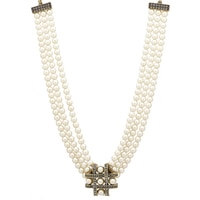 Heidi Daus Tic Tac Toe Necklace