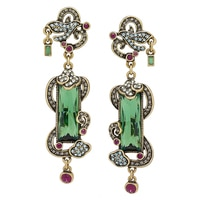 Heidi Daus Baguette Brilliance Earrings