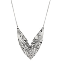 Emma Skye Stainless Steel Mesh Drape Necklace