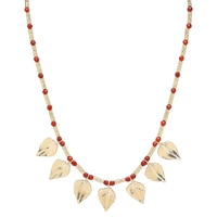 Jewellery of The Grand Bazaar Carnelian Floral Necklace