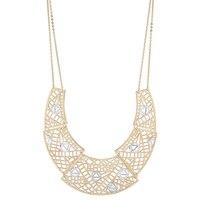 Jewellery of The Grand Bazaar Diamond Cut Bib Necklace
