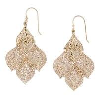 Jewellery of The Grand Bazaar Layered Filigree Earrings