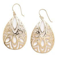 Jewellery of The Grand Bazaar Geometric Cut-Out Drop Earring