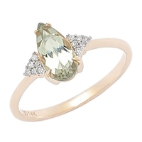Zultanite Gems 14K Yellow Gold Zultanite & Diamond Ring