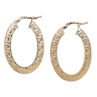 Bronzoro Italia Etrusca Hoop Earrings