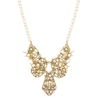 Miriam Haskell Pearl Statement Necklace