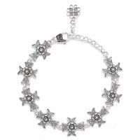 Ottoman Silver Sterling Silver Cross Bracelet