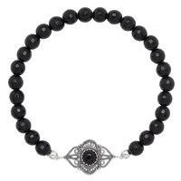 Bracelet composé de perles en gemme sur argent sterling de Ottoman Silver
