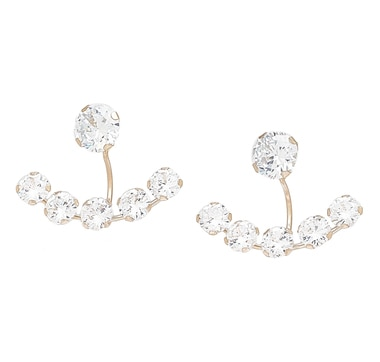 Boucles d'oreille balancier en or 10 ct de Diamonelle