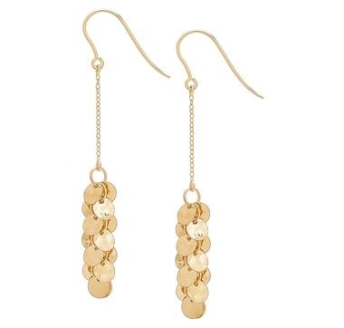 Stefano Oro 14K Yellow Gold Treasure Earrings