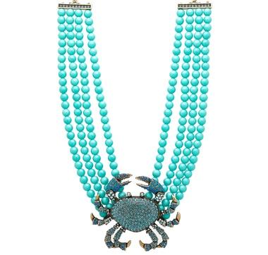 Heidi Daus Queen Crab Necklace