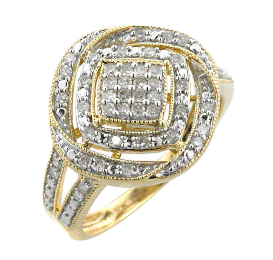 Image 455900_WHT.jpg , Product 455-900 / Price $279.33 , 10K Gold 0.35ctw Diamond Ring