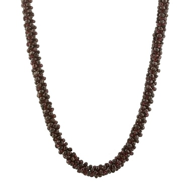 Endless Garnet Necklace