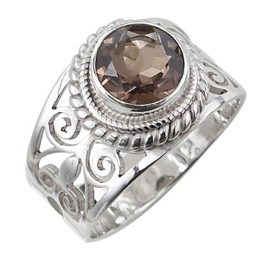 Bague gemmée en argent sterling Himalayan Gems