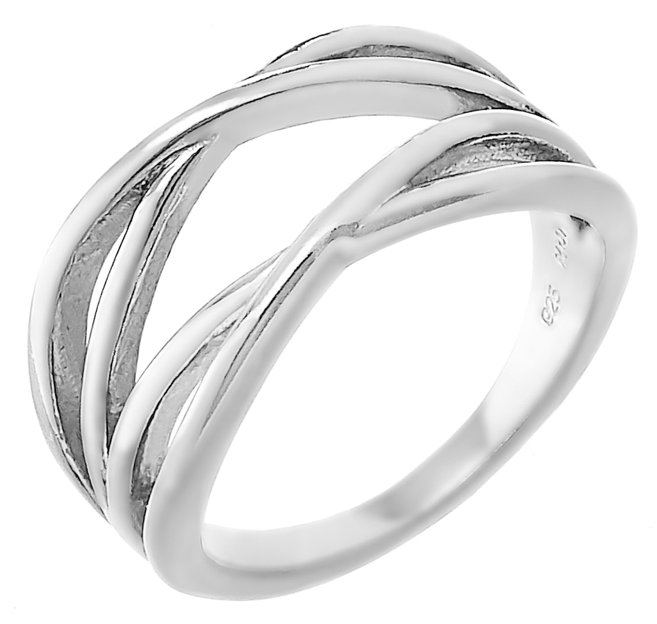 Image 457253_RHP.jpg , Product 457-253 / Price $49.99 , Silver Gallery Sterling Silver Wrap Band from Silver Gallery on TSC.ca's Jewellery department