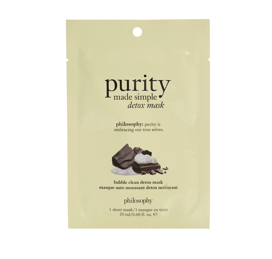 Image 457640.jpg , Product 457-640 / Price $8.00 , philosophy purity made simple bubble detox mask from purity on TSC.ca's Beauty department