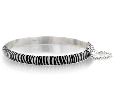 Bracelet Sigal Style en argent sterling à motif animalier