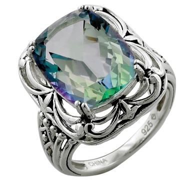 Coated Odyssey Cassiopeia Sterling Silver Ring