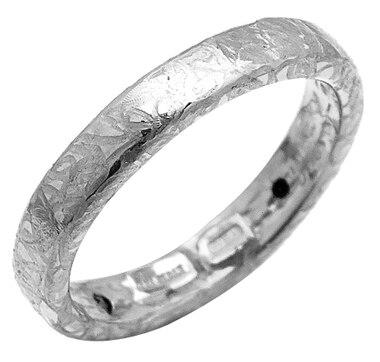 Stefano Oro 14K Gold Artformed Oro Etrusco Ring with Silicone Core