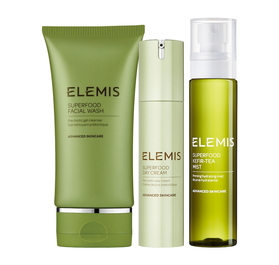 Image 465684.jpg , Product 465-684 / Price $134.00 , Elemis Super Food Trio from Elemis on TSC.ca's Beauty department