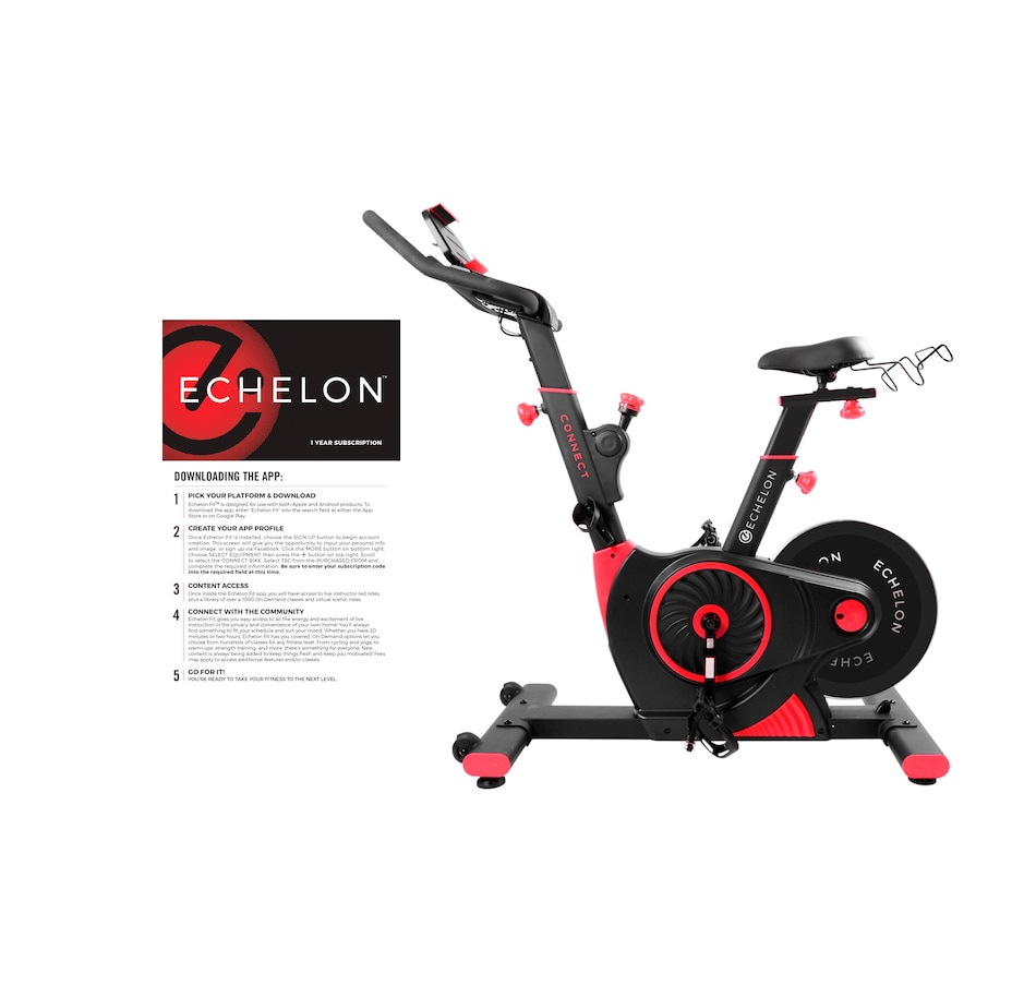 Image 465715.jpg , Product 465-715 / Price $1,999.98 , Echelon Connect EX1 Bike Bundle from Echelon on TSC.ca's Health & Fitness department