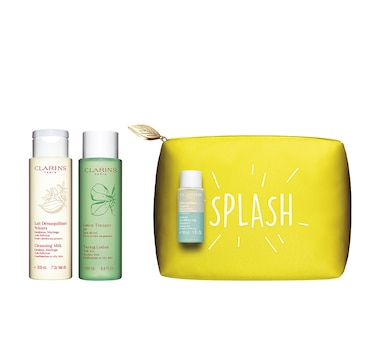 Clarins Premium Cleansing 3-Piece Set Combination or Oily