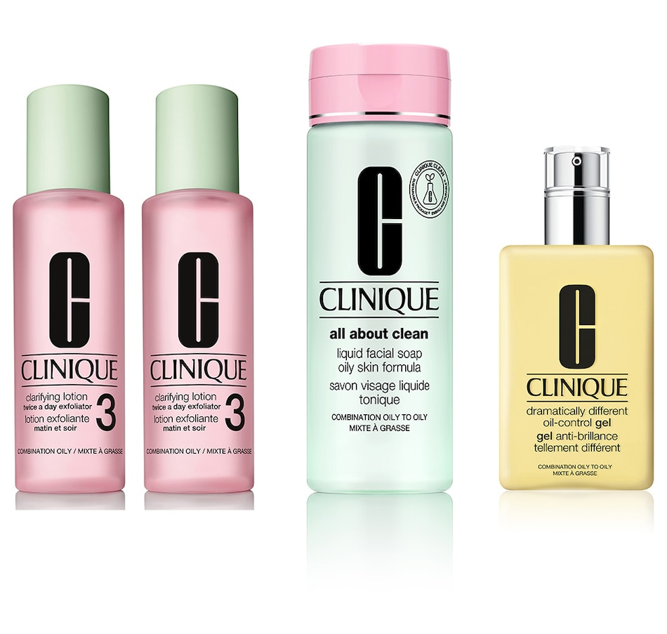 Image 475307_COMB.jpg , Product 475-307 / Price $109.00 , Clinique 3-Step Skin Care System from Clinique on TSC.ca's Beauty department