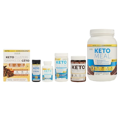 Keto Nature's Science 30-Day Bundle with Nut Butter and Nut Clusters in Chocolate/Chocolate Hazelnut - 30-Day Auto Delivery
