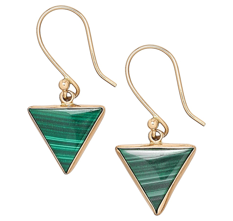 Image 476950.jpg , Product 476-950 / Price $49.88 , Alchemia by Charles Albert Malachite Drop Earrings from Alchemia by Charles Albert on TSC.ca's Jewellery department